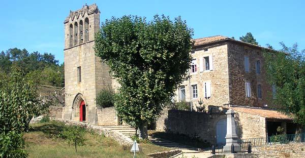 église de Mercuer